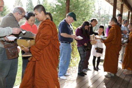 Alms Opening Ceremony