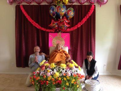Luang Por Visit 2015 1658