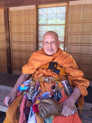 Luang Por Visit 2015 676